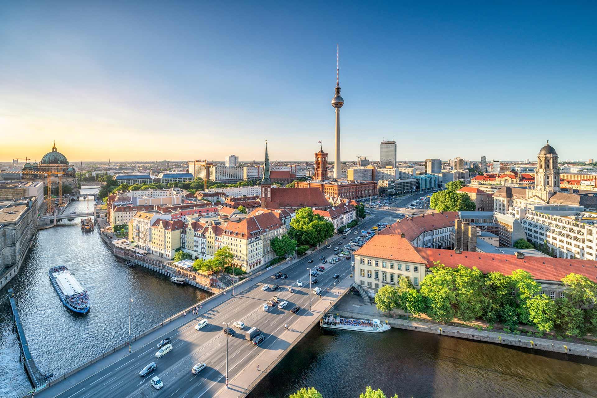 Skyline von Berlin - Gieron & Partner Steuerberatung in Berlin