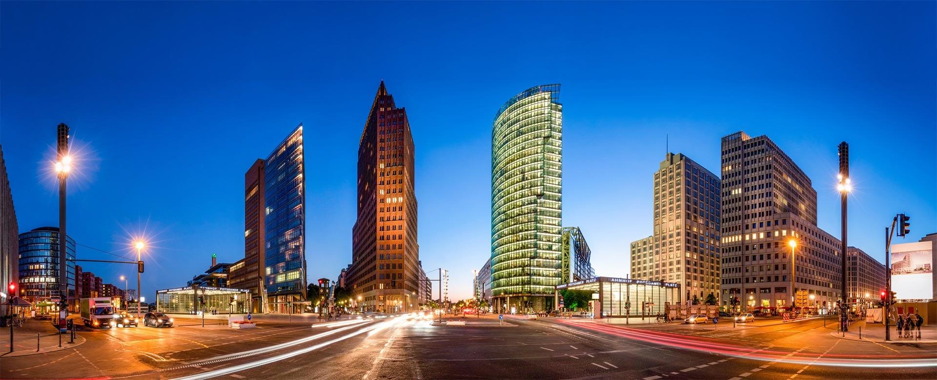 Potsdamer Platz in Berlin - Gieron & Partner Steuerberatung in Berlin