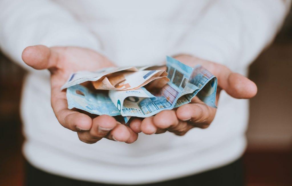 Eine Schenkung - Schenkungssteuer